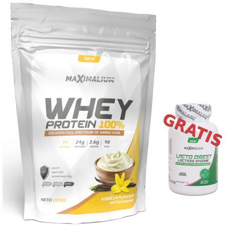 Maximalium Whey 2,27kg + Poklon-LactoDigest 30 tab.